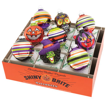 HALLOWEEN DECORATED ROUNDS AND FIGURES - 4027902
