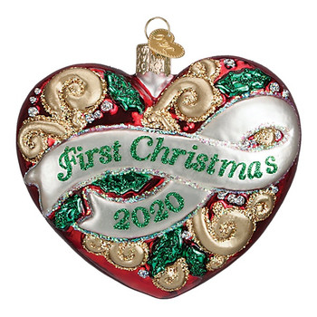2020 First Christmas by Old World Christmas 30058