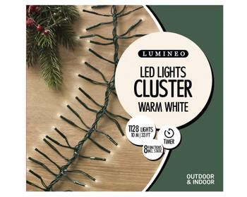 LED CLUSTER WARM WHITE LIGHTS - 780139