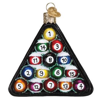 Billiard Balls by Old World Christmas 44069
