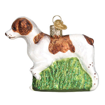 Brittany Spaniel by Old World Christmas 12330