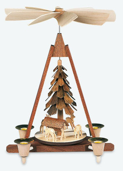 Mueller Deer Scene Pyramid - Made in Germany