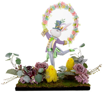 SPRING DANCE BOY RABBIT ARRANGEMENT - AI-14362