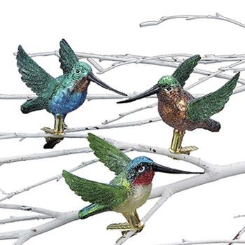 HUMMINGBIRD CLIP ORN