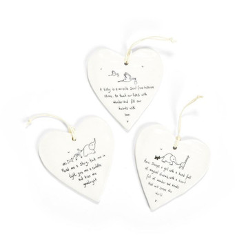 HEART-SHAPED HANGING TAG-E6217