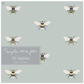 PAPER NAPKINS-BEES-PN36165