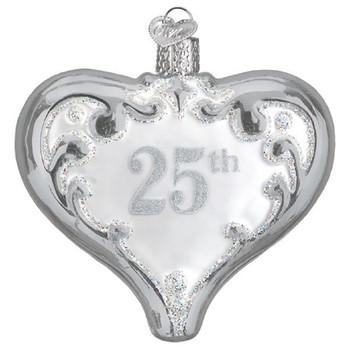 25TH ANNIVERSARY HEART - 30055