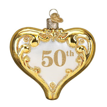 50TH ANNIVERSARY HEART - 30056