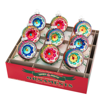 CHRISTMAS CONFETTI REFLECTOR ROUNDS - 4027748