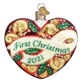 2021 FIRST CHRISTMAS HEART - 30061