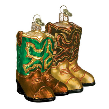 PAIR OF COWBOY BOOTS - 32072