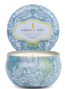 AQUA DE SOI LINEN AND LACE - CANDLE