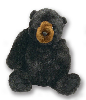BLACK BEAR JOINTED - LARGE - 40195