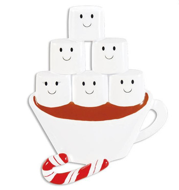 6 HOT CHOCOLATE FAMILY - OR1213-6