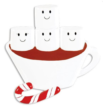 4 HOT CHOCOLATE FAMILY - OR1213-4