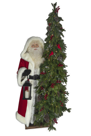 Christmas Dream large santa and tree by ditz