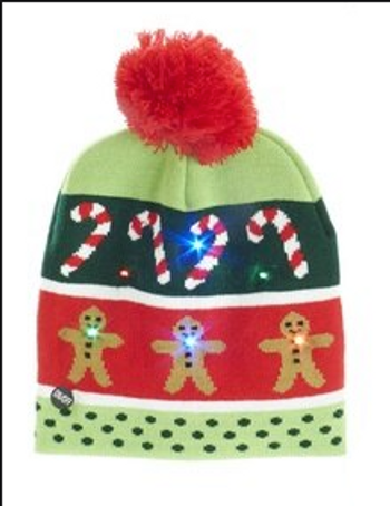 GINGERBREAD CHRISTMAS HAT