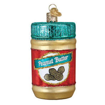 Jar of Peanut Butter by Old World Christmas 32352