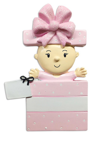 BABY GIRL IN PRESENT - OR1653-P