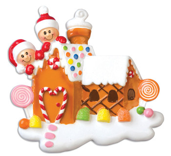 2 GINGERBREAD HOUSE - OR965-2
