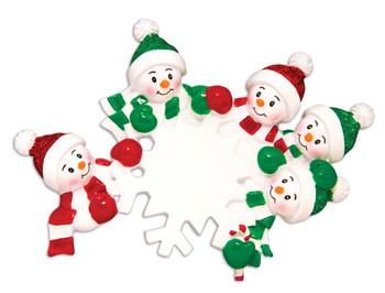 5 SNOWFLKAE FAMILY - OR1610-5
