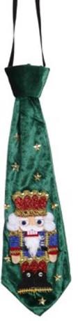 Nutcracker Festive Tie Decor Ugly Tie by Mark Roberts