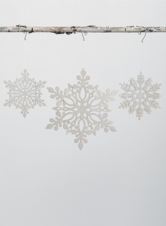 CLOSED CENTER SNOWFLAKE