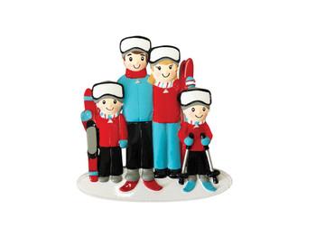 4 SKI FAMILY - OR1868-4