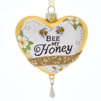 HEART W/BEE PATTERN