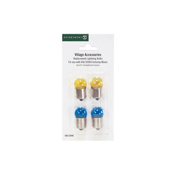 REPLACEMENT BULBS BLUE & YELLO
