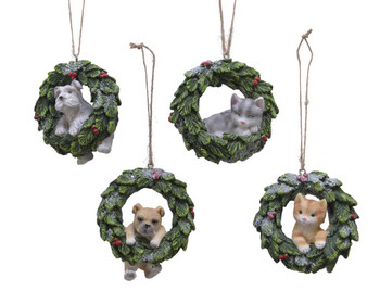 WREATH W/ANIMAL