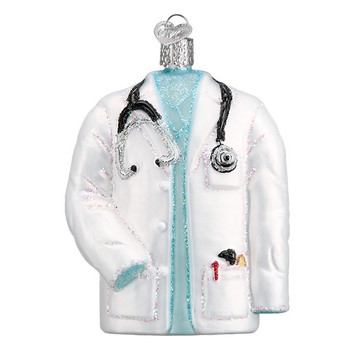 Doctor's Coat by Old World Christmas 36246