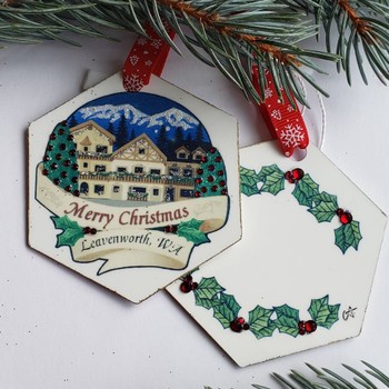 MERRY CHRISTMAS TOWN - CA042