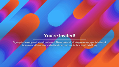 NEW! Virtual Event Series - With Giveaways!