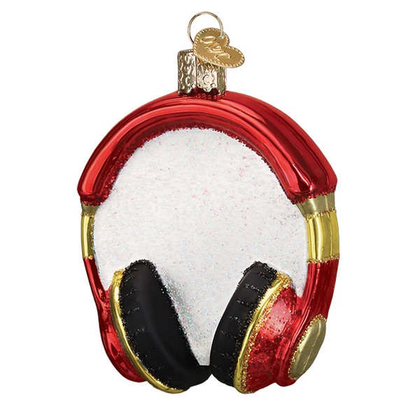 Headphones by Old World Christmas 32390