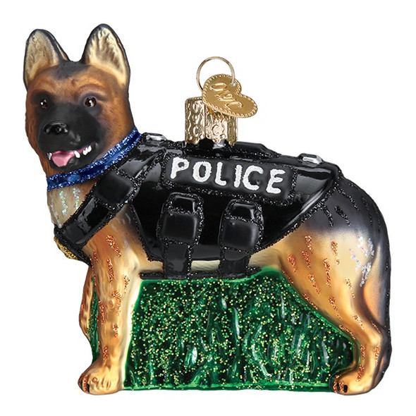 K-9 Dog by Old World Christmas 12546