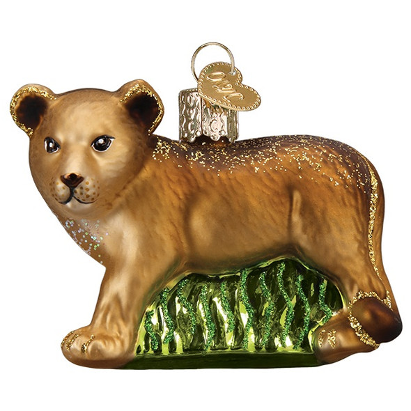 Lion cub by Old World Christmas 12581