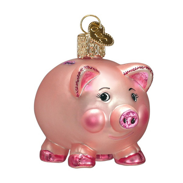 Piggy Bank by Old World Christmas 36061