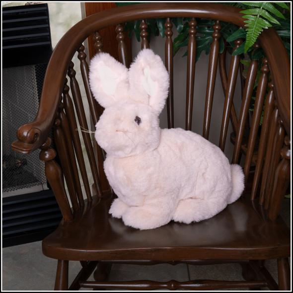 ditz pink rabbit plush