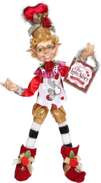 Happy Valentine's Elfin, Small, Mark Roberts