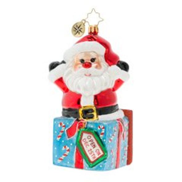 A Warm Hug From Santa!