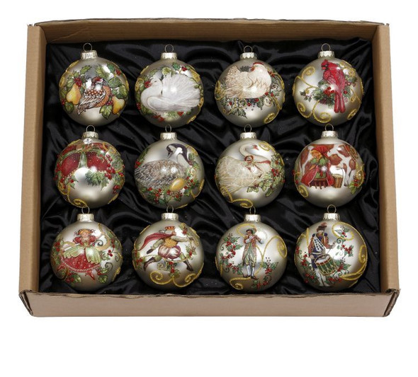 12 Days of Christmas Ornaments by Mark Roberts
