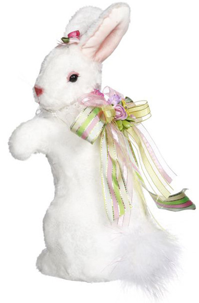 Standing White Rabbit by Mark Roberts