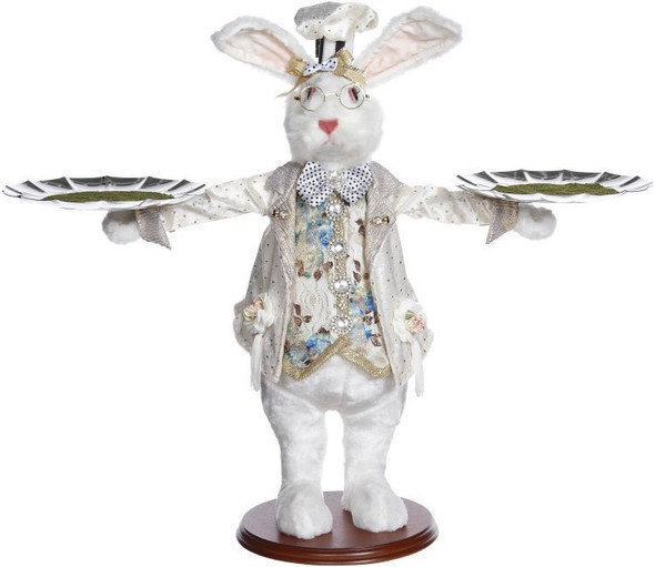 Server Rabbit with 2 platters by Mark Roberts