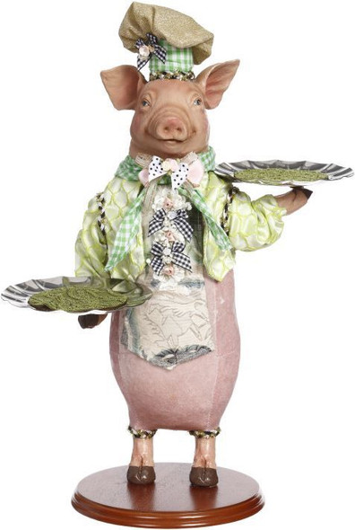 Server Pig with 2 platters by Mark Roberts