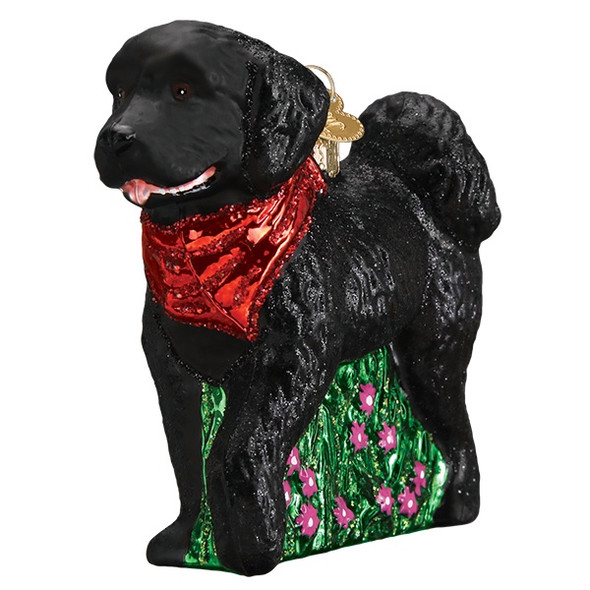 Black Doodlr Dog by Old World Christmas 12560