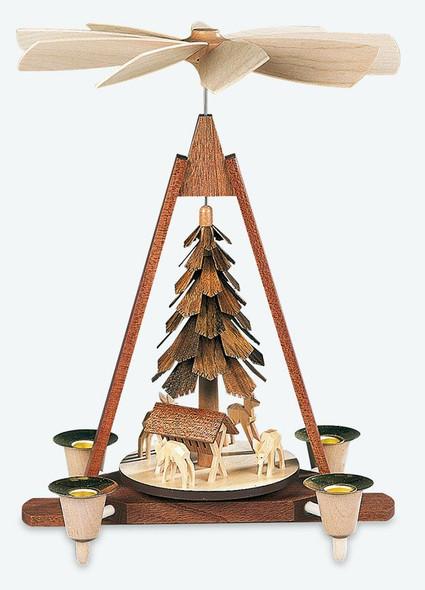 Mueller Deer Scene Pyramid - Made in Germany