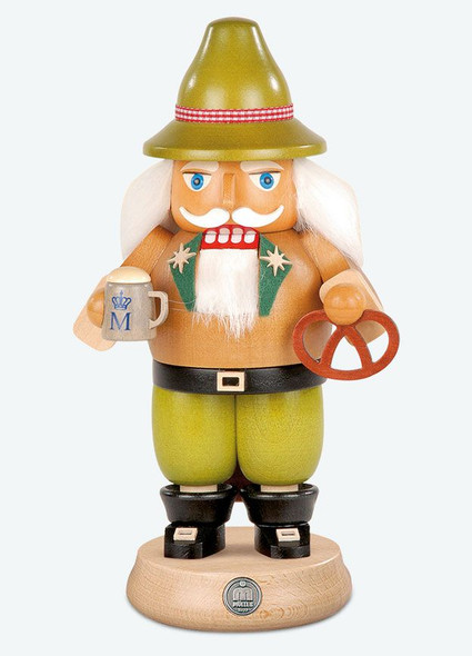 Bavarian Octoberfest Nutcracker with beer and pretzel by Mueller