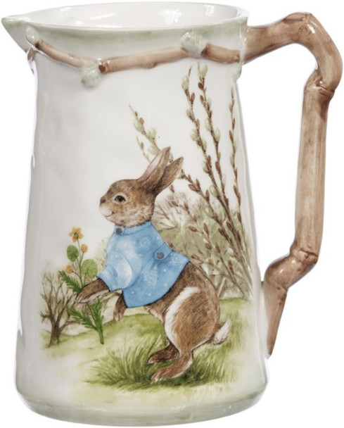 Rabbit Pitcher by Mark Roberts
