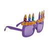 "Party Glasses ""Happy Birthday!"" Purple"